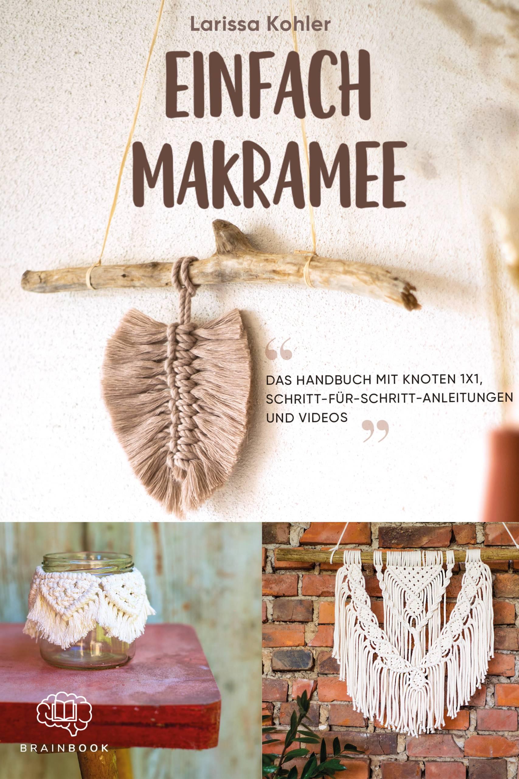 """Makramee Buch """"Einfach Makramee"""""""